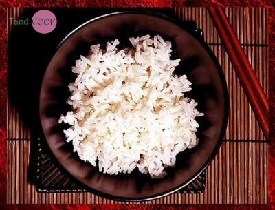 Варений рис в мікрохвильовці