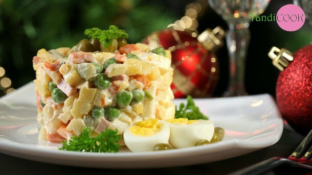 Новорічний «Олів'є». Новорічні салати