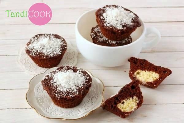 Шоколадно - сирні кекси 2