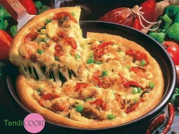 Піца на сковороді за 10 хвилин