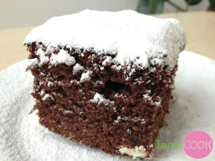 Шоколадно-кокосовий пиріг