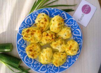 Картопля запечена з сиром