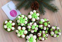 Шоколадні кекси з горіхами