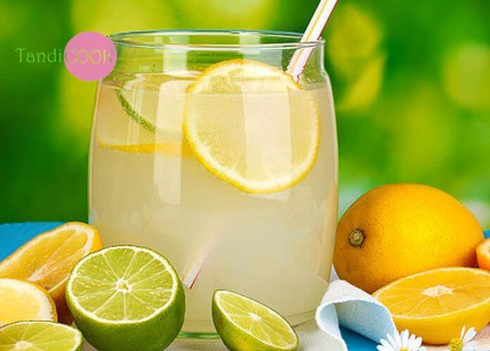 Лимонний лимонад з корицею