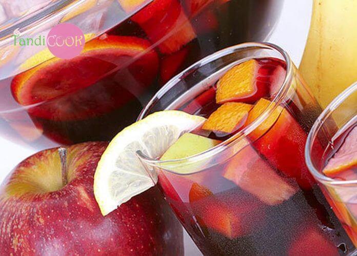Яблучно-смородиновий лимонад