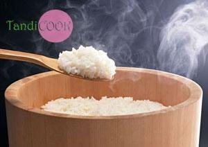 Варений рис на плиті