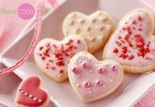 Печиво у формі сердечок