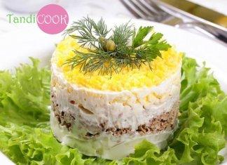 Рецепти салатів з консервованої риби. Швидко та смачно