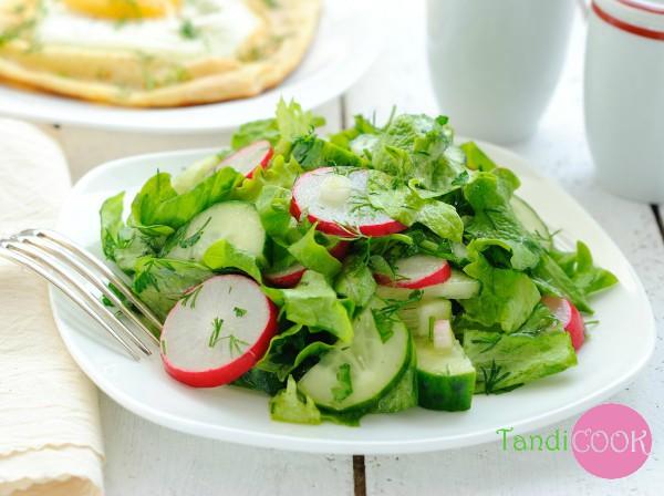 Дієтичний салат з редиски