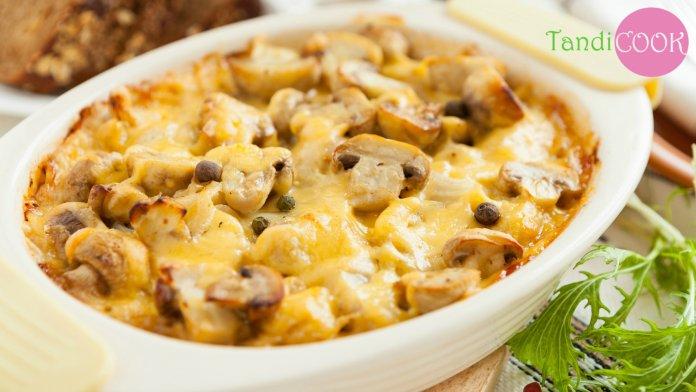 Пісні страви: рецепти запіканок із картоплею та грибами