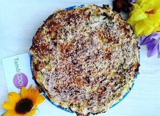 Заливний пиріг з капустою