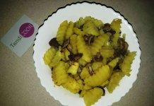 Картопля з маслюками запечена в рукаві