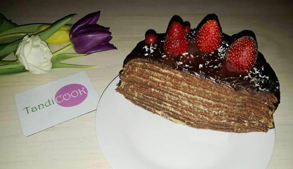 Торт на сковорідці. Без духовки!