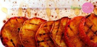 Яблука з цукром і корицею