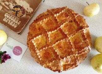 Яблучний пиріг за рецептом Дарії Цвек